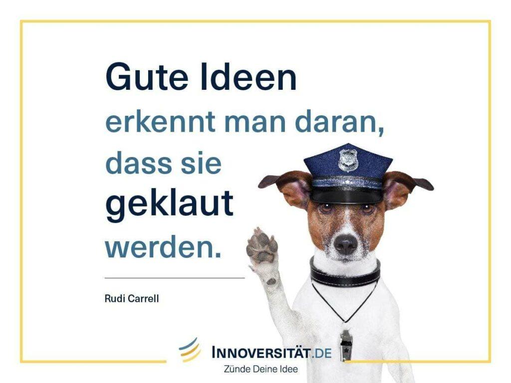 Gute Ideen werden geklaut